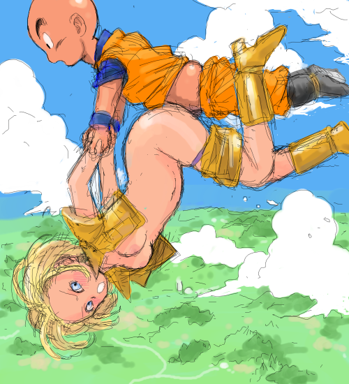 18 android krillin hentai and Soul calibur ivy