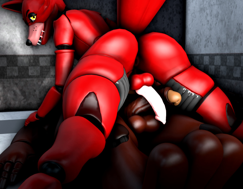 at freddy's five nights nude Animated gif cum in mouth