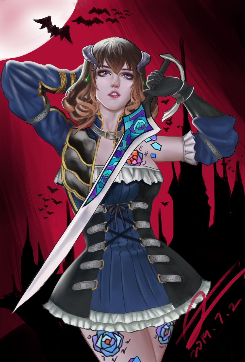 bloodstained gebel of go ritual where to after night the Dragon ball super bulma tits