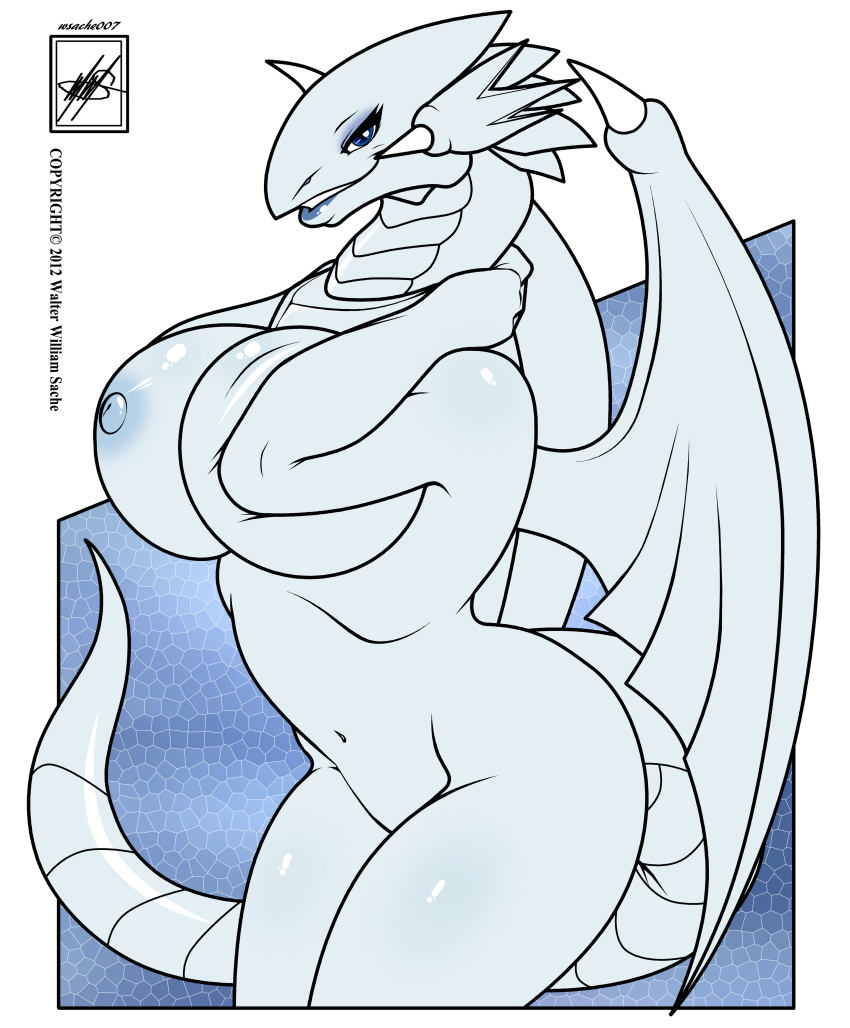 blue dragon eyes white toon Princess and the frog